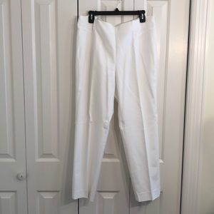 600 west white slacks size 16 very clean